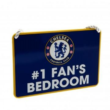 Chelsea FC Bedroom Sign Number 1 Fan